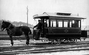 Hästspårvagn från Stockholm