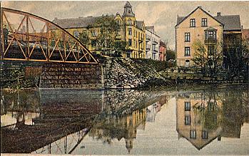 Södra delen av Järnvägsbron