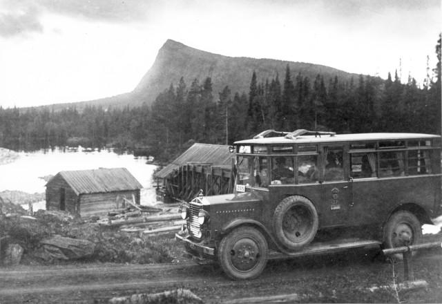 Postdiligens på 1930-talet