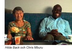 Hilde Back & Chris Mburu