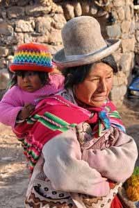 Inka Mother and Child