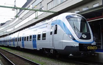 Pendeltåg (modell X60) Centralstationen Stockholm