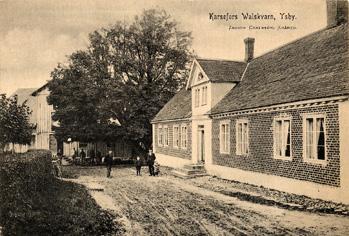 Hofsmölla - Karsefors Walskvarn i Ysby, Halland