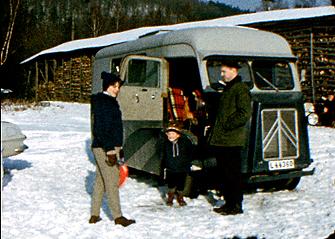 Citroën buss 1964