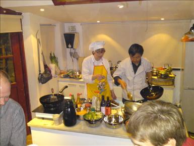 Bild från Black Sesame Kitchen i Peking, 2009.
