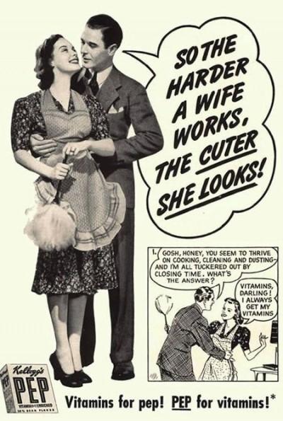 Nöjd hemmafru - 50-tal