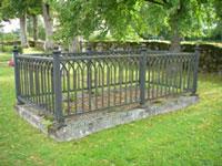Här vilar lagman Danckwardt på Kärda gamla kyrkogå