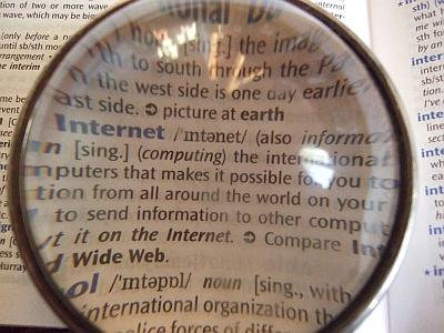 400px-Dictionary_through_lens.jpg