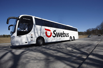 Swebus landsvägsbuss