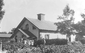 Stålgatan år 1915 Foto: Sandvikens Kommun Central